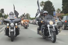 Парад байкеров на Harley-Davidson прошёл в Сен-Тропе