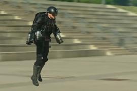 Летающий костюм «Железного человека» показали в действии