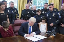 Дональд Трамп: полиция «сыта по горло» преступлениями в отношении неё