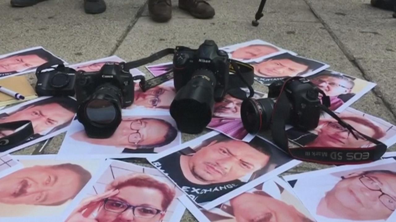 Мексиканские журналисты требуют защитить их от наркоторговцев