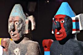 Культуру ацтеков показали в аутентичных ярких красках