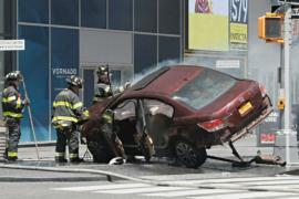 Водитель, наехавший на пешеходов на Таймс-сквер, оказался ветераном ВМС США