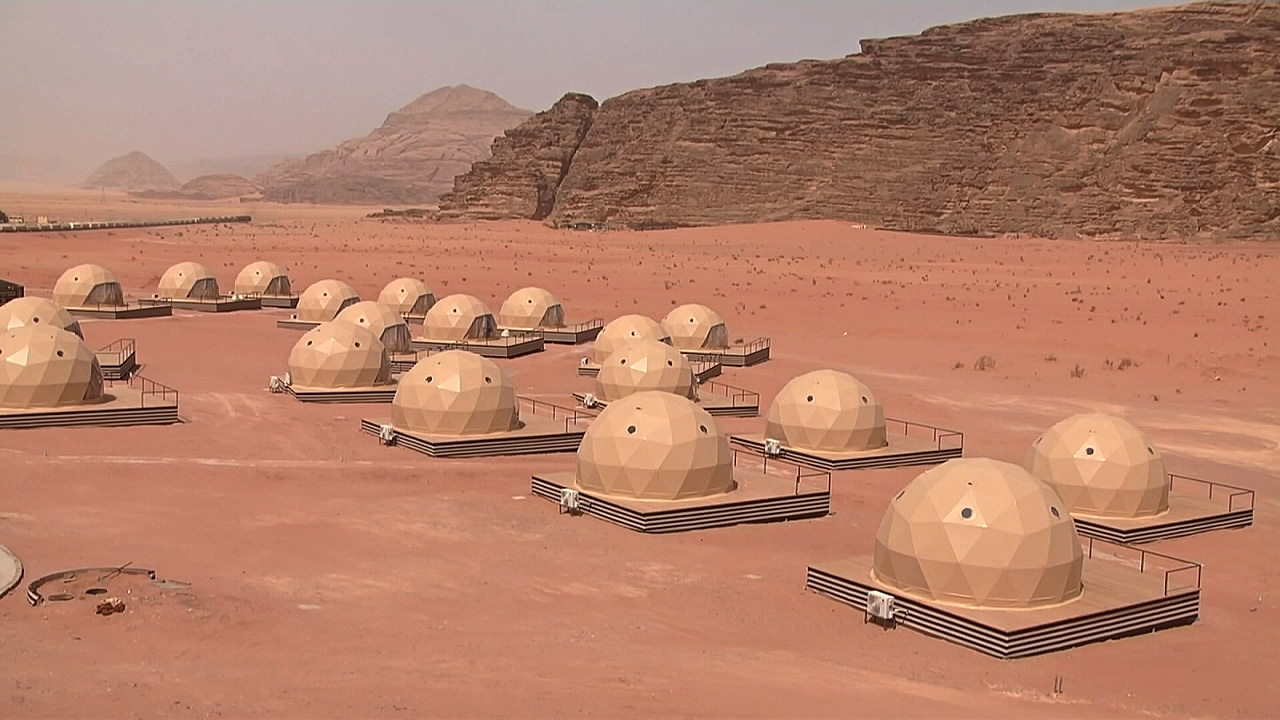 «Марсианский» отдых предлагают в Иордании
