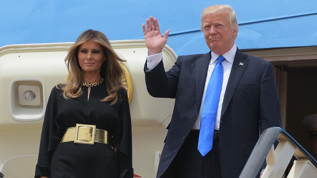 Первое зарубежное турне Дональд Трамп начал с Саудовской Аравии