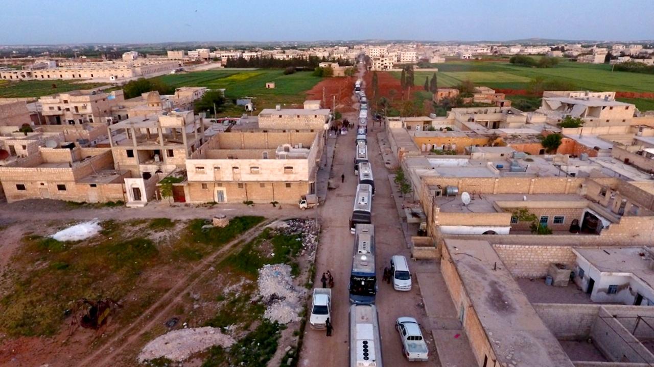 Из Хомса вывезли последних боевиков