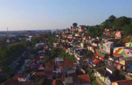 Раскрашенные трущобы стали туристической достопримечательностью