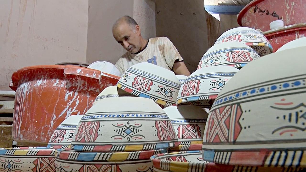 Гончары Марокко спасают ремесло от наплыва дешёвых подделок из Азии