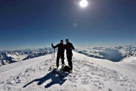Ски-альпинисты покорили пик Дюфур и Монблан за 50 часов
