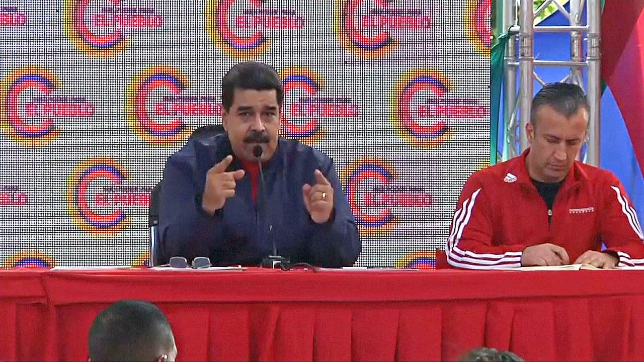 Мадуро обрушил гнев на Трампа на фоне антиправительственных протестов