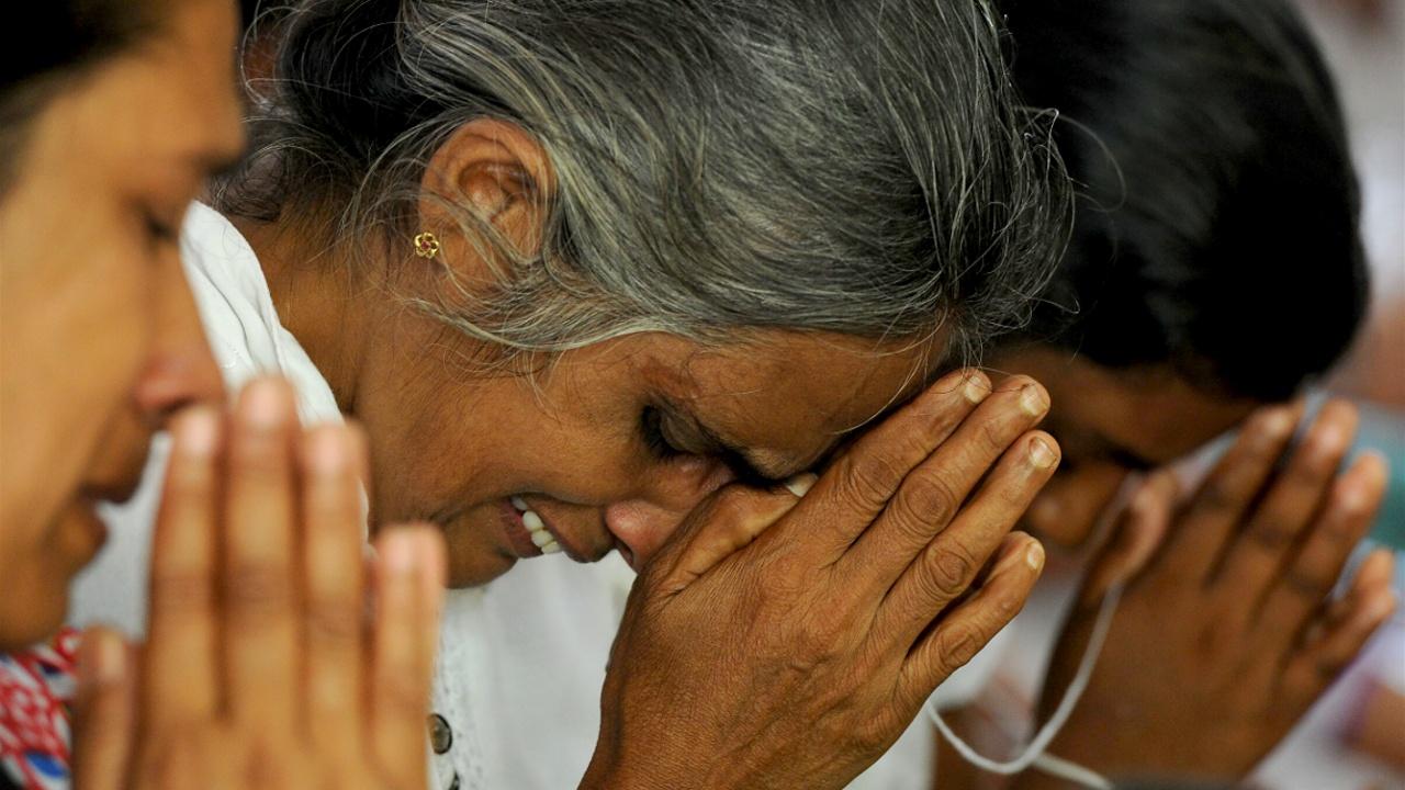 Наводнения на Шри-Ланке: пострадавшие ютятся в буддийских монастырях