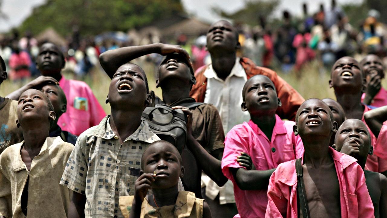 В Уганду бежали уже 800 тысяч южносуданцев