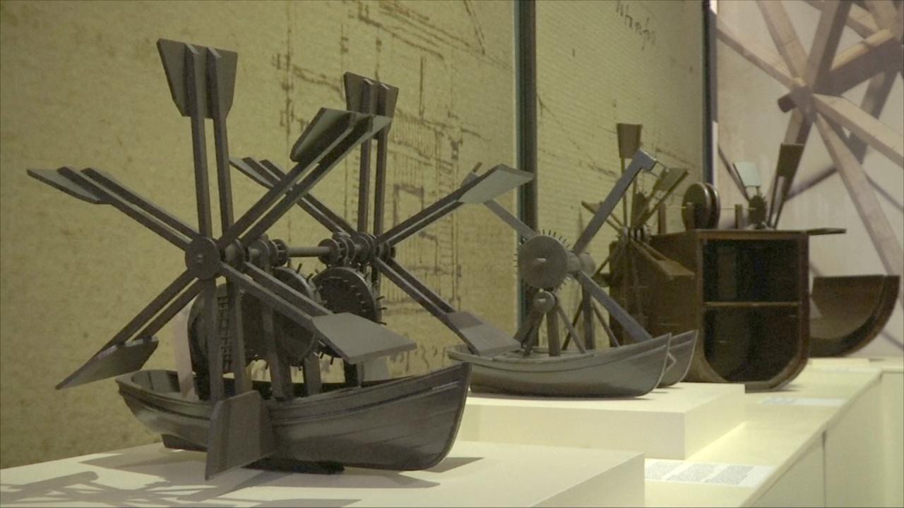 Машины да Винчи показали на выставке