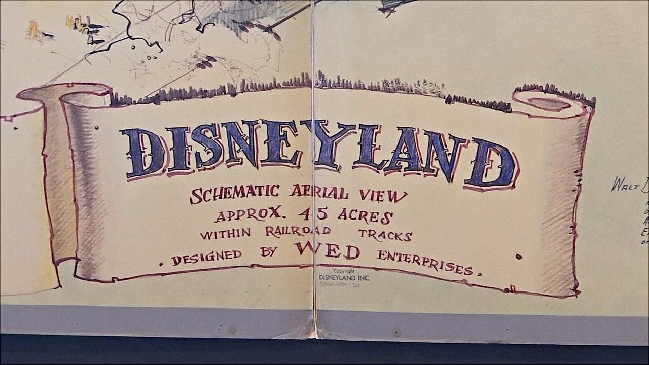 Первую карту Диснейленда выставят на аукцион в Лос-Анджелесе