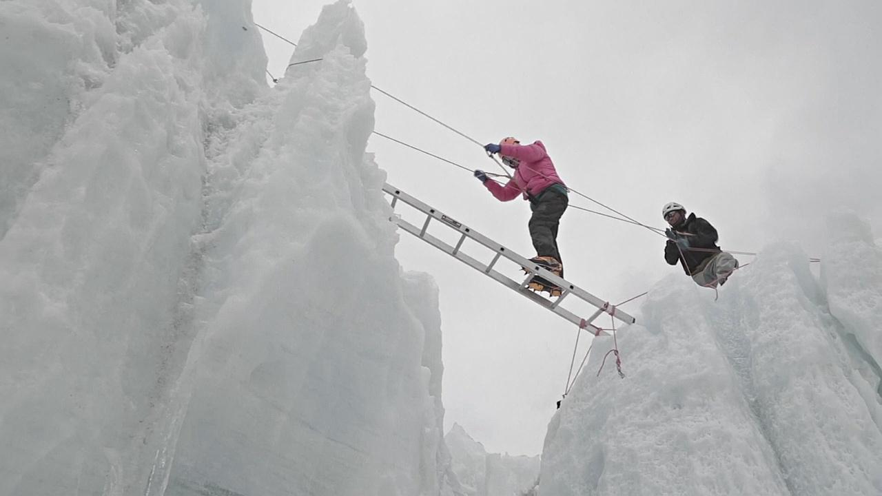 Команда иорданок тренируется, чтобы покорить Эверест