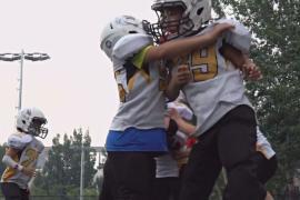 Американский футбол помогает победить «синдром одного ребёнка» в Китае