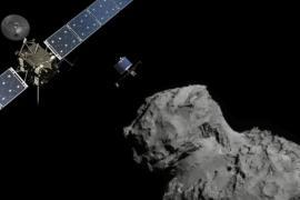 Учёные анализируют данные, собранные на комете аппаратом «Розетта»