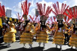 Боливийцы станцевали моренаду на фестивале в Ла-Пасе