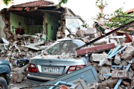 Землетрясение в Греции: один погибший