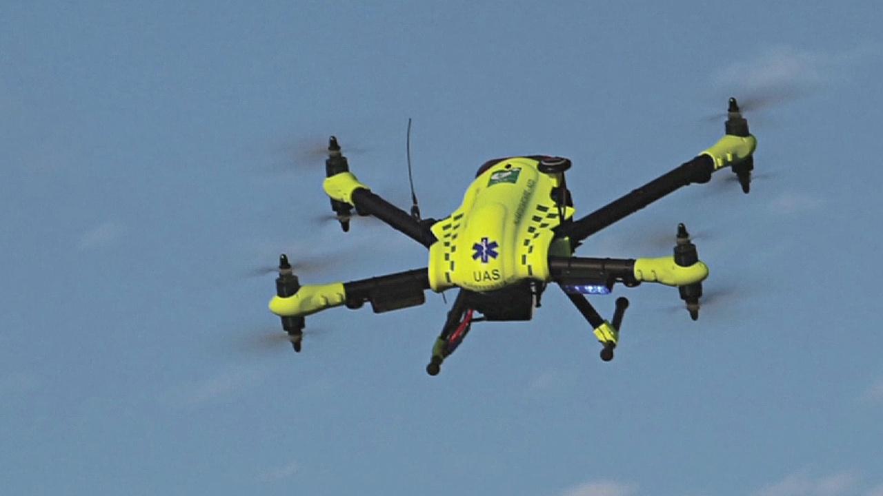 Врачи могут спасать пациентов, отправляя к ним дроны