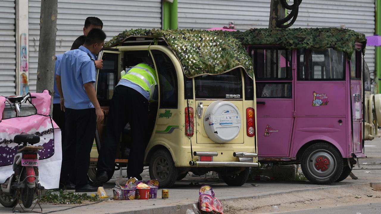 Взрыв у ворот детсада в Китае, есть жертвы