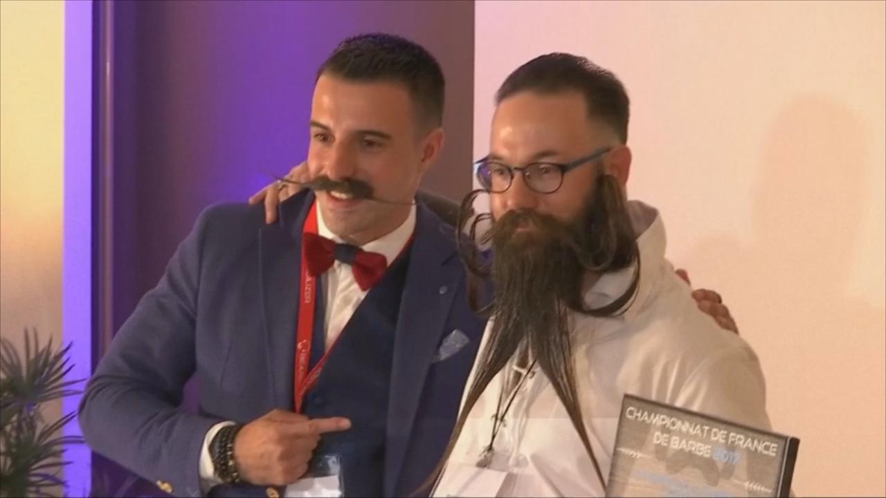 В Париже прошёл первый французский Чемпионат бород и усов