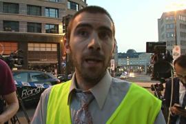 """Очевидец взрыва в Брюсселе: «Подозреваемый кричал """"Аллаху акбар""""»"""