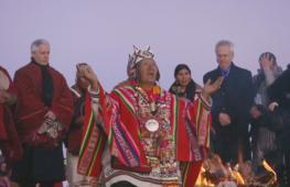 5525 аймарский Новый год встретили в Боливии