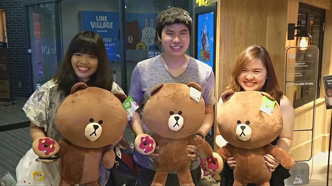 Тематический магазин мессенджера Line открылся в Таиланде