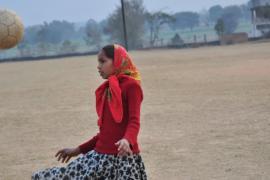 Футбол помогает индийским девочкам обрести уверенность в себе