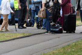В Германии эвакуируют жильцов дома с пожароопасной облицовкой