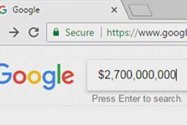 ЕС наложил на Google рекордный штраф в $2,7 млрд