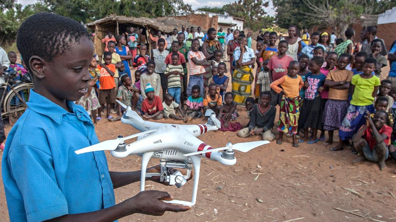 ЮНИСЕФ открыл в Малави воздушный коридор для дронов