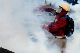После вертолётной атаки в Каракасе усилились беспорядки