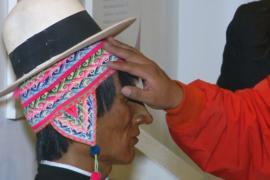 Уникальную выставку для незрячих создали в Боливии
