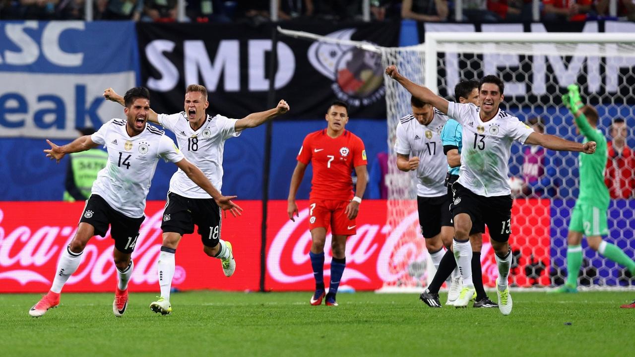 Болельщики удивлены победой Германии в Кубке конфедераций 2017
