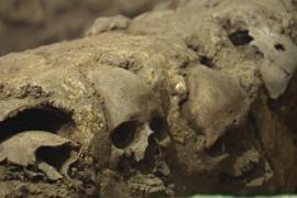 В Мехико нашли ацтекскую башню из черепов
