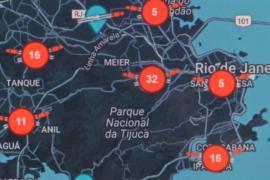 Интернет-приложения помогают не попасть под пули в Рио-де-Жанейро