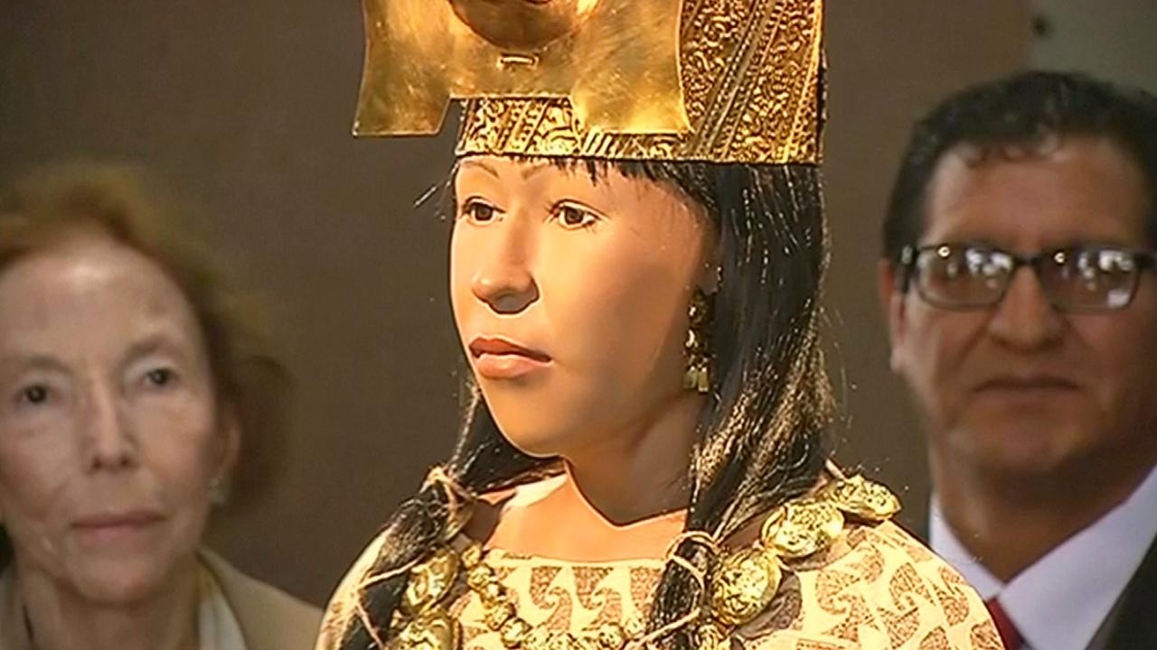 Учёные Перу воссоздали лицо древней правительницы Леди Цао