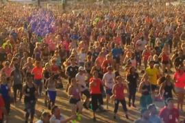На массовую фитнес-тренировку в Лондоне собрались почти 4000 человек
