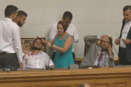 На парламент Венесуэлы напали сторонники Мадуро