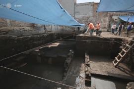 В Мехико обнаружили руины дома знатных ацтеков