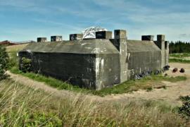 Исторический музей спрятали за бункером времён Второй мировой