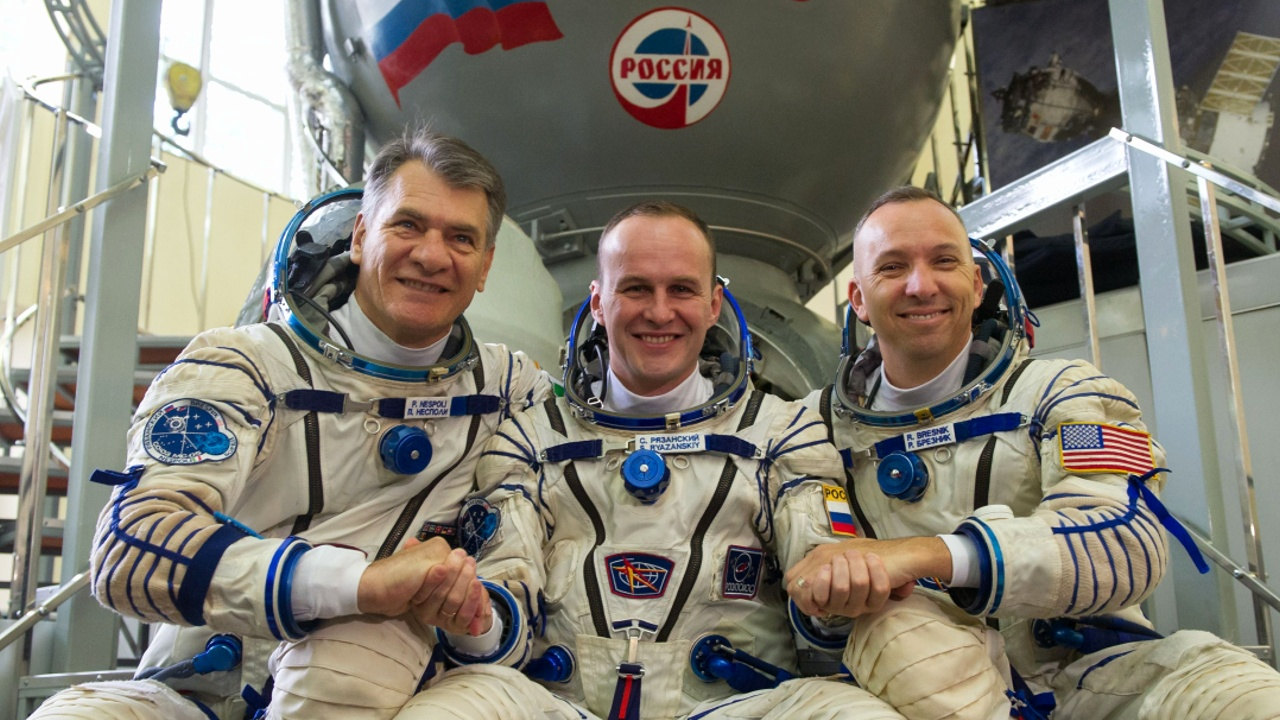 Экипаж МКС-52 допустили к полёту на орбитальную станцию