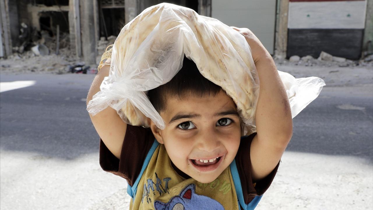 ООН смогла доставить продовольствие в отдалённые районы Ракки