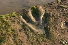 В Марокко изучают следы динозавров, оставленные 85 млн лет назад