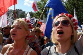 Тысячи поляков протестуют против судебной реформы