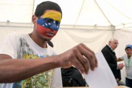 Венесуэльцы вышли на «народный референдум»