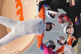 Лучшие фрифлаеры-юниоры станцевали в аэротрубе в Мадриде