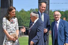 Принц Уильям и Кейт посетили бывший концлагерь в Польше
