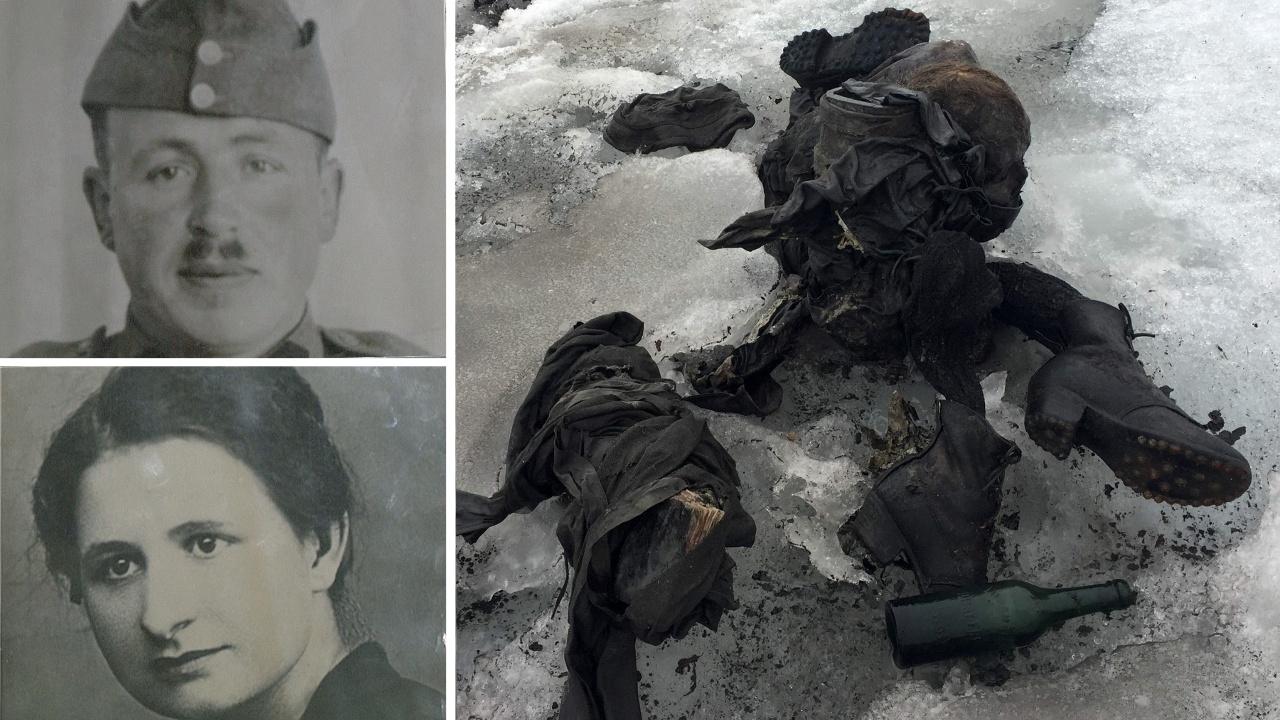 В Швейцарии опознали два тела, 75 лет пролежавшие в леднике